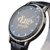 Fate/stay night | Waterproof Touchscreen LED Watch - Anime Print House