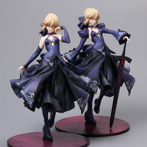 Fate Stay Night Saber Figure in 4 Colors