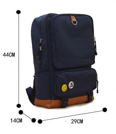 High quality Canvas Fate Backpack with Glowing Feature