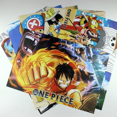 Conditional Free Gift | One Piece Posters | 8 Pieces! - Anime Print House