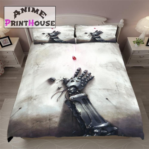 Fullmetal Alchemist Bed Set, Bed Sheet & Blanket
