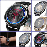 Fullmetal Alchemist Waterproof Touchscreen LED Watch - Anime Print House
