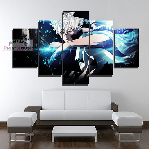 Gintama Gintoki Canvas Print