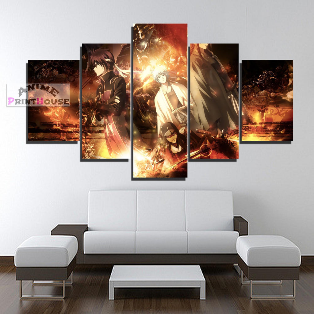 Gintama All Characters Canvas Print