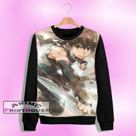 Grimgar of Fantasy and Ash Haruhiro Sweater | Full Color One Side Print - P4