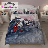 Guilty Crown Bedding Set, Bed Sheets & Blanket, Inori Yuzuriha