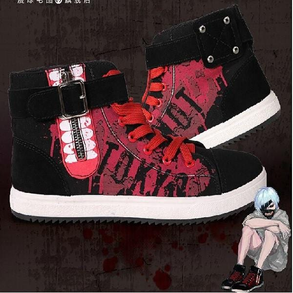 Tokyo Ghoul - Anime Shoes - Anime Print House