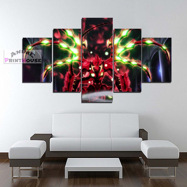 High School DxD Canvas Print | Issei Juggernaut
