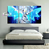 High School DxD Canvas Painting | White Dragon Emperor
