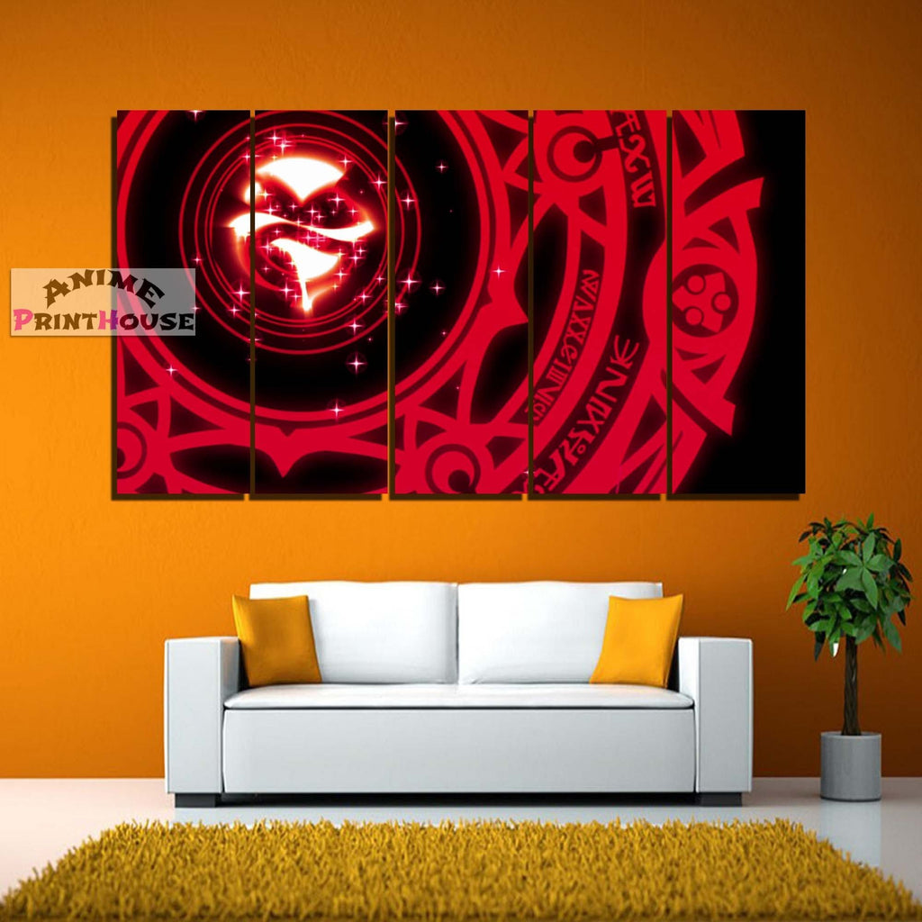 High School DxD Canvas Print | Magic Circle