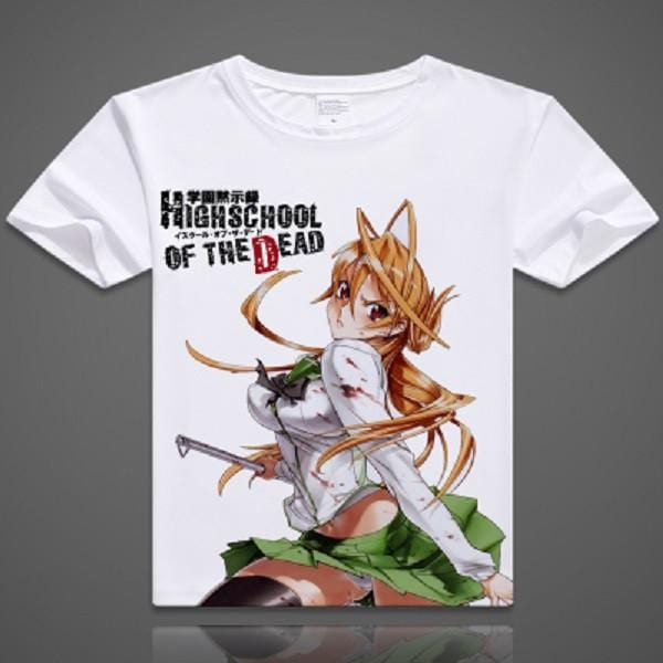 Highschool of the Dead T-Shirt | 6 Designs