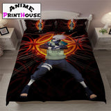 Kakashi from Naruto Bedding Set & Blanket & Sheet - A2