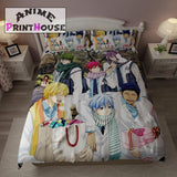 Kuroko No Basket Bed Set, Blanket & Sheets - All Characters