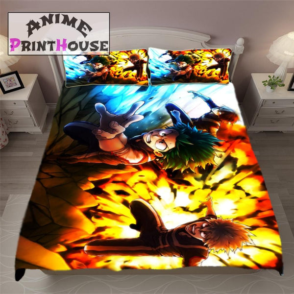 My Hero Academia Blanket Bed Set Amp Covers Anime Print House