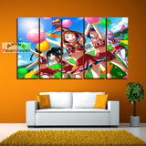 My Hero Academia Canvas Print, Cheerleaders Design