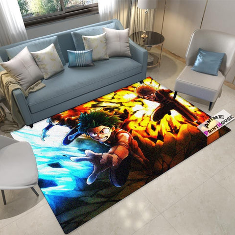 My Hero Academia Carpet, Boku No Hero Academia Rug