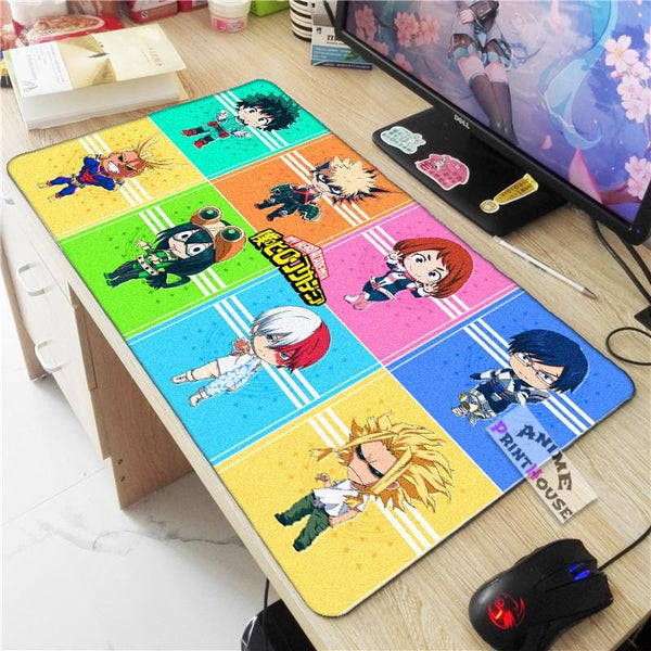My Hero Academia Mouse Pad Chibi Mode