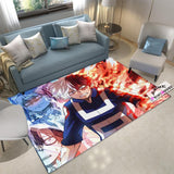 My Hero Academia Rug, Todoroki Shoto Carpet