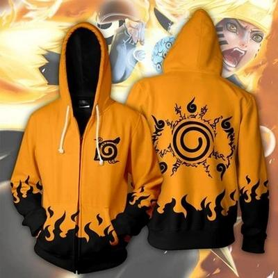 Naruto Hoodie 3D in 8 Designs - First Collection