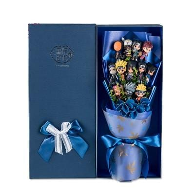Naruto Action Figures Set with Beautiful Gift Box & Wrap