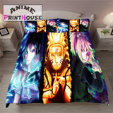 Naruto Bedding Set, Duvet Cover & Bed Sheets, Sasuke, Sakura & Naruto