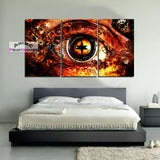Naruto Canvas Art Wall Decor | Naruto Sennin Mode Eye
