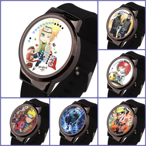 Naruto | Printed LED Watch - 9 Models - Anime Print House