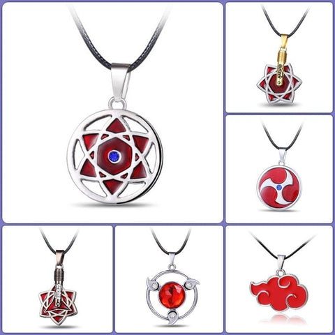Conditional Free Naruto Necklace & Pendant in 7 Designs