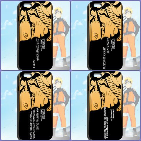 Naruto Phone Case for iPhone & Samsung | Naruto Quoted Phone Case