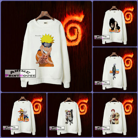 Naruto Sweaters | Cotton Made - 6 Designs