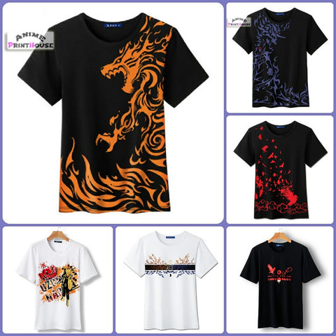 Naruto Special Edition Embossed T-Shirt