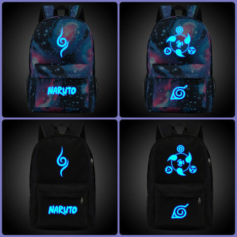 Naruto Backpack | High quality nigh glowing