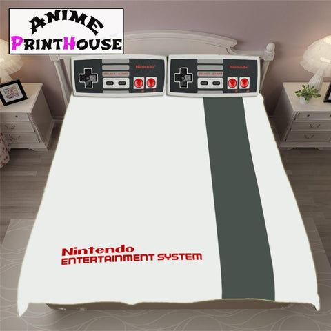 Nintendo Bedding Set, Blanket & Covers | Classic Console