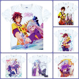 No Game No Life T-Shirts| Men & Women - 6 Designs - Anime Print House
