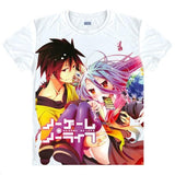 No Game No Life T-Shirts| Men & Women - 6 Designs, C - Anime Print House