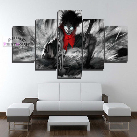 One Piece Canvas Print | Monkey D. Luffy