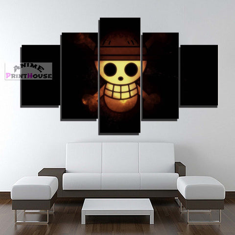 One Piece Canvas Print | One Piece Logo