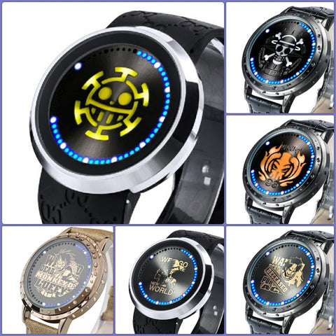 One Piece | Waterproof Touchscreen LED Watches