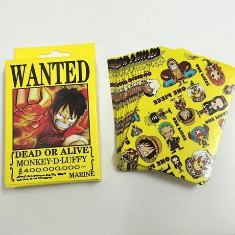 Free Gift One Piece Poker Cards - Anime Print House
