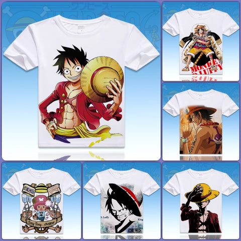 One Piece T-Shirts - 12 Designs - B - Anime Print House