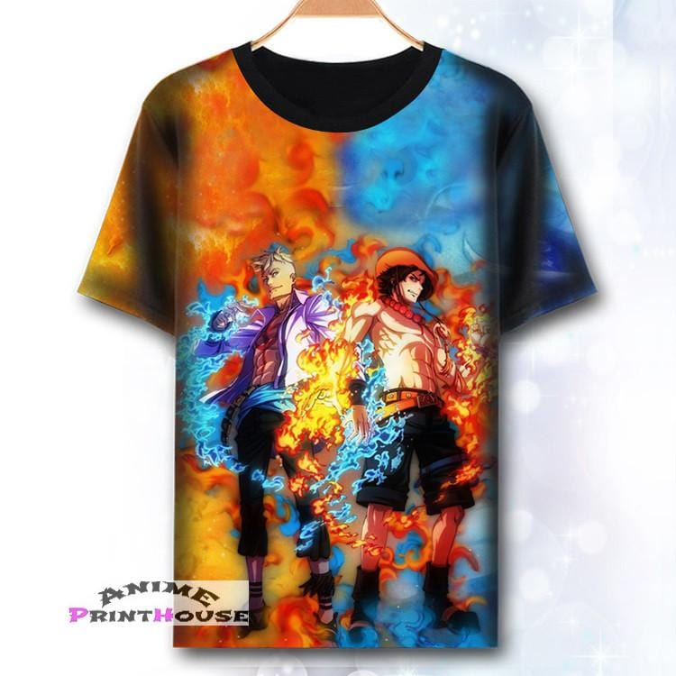 e4949837 One Piece T-Shirt | Full Color Printed T-Shirts | A – Anime Print House