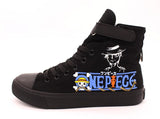 One Piece High Top HigCanvas Shoes