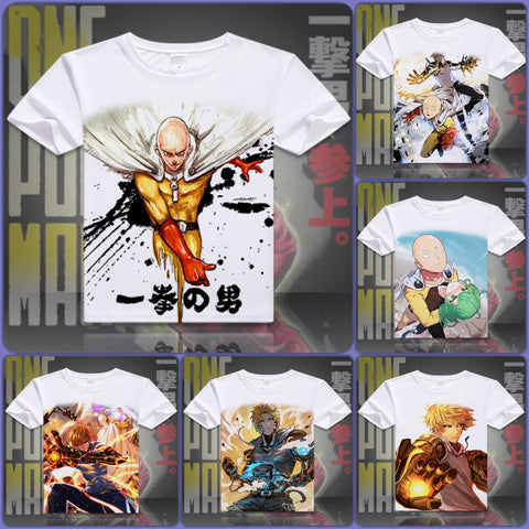 One Punch Man T-Shirt | Unisex - 10 Designs | B - Anime Print House