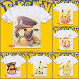 Pokemon T-Shirt | Men & Women - 9 Designs- B - Anime Print House