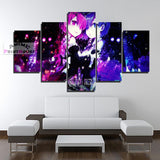 Re Zero Rem & Ram Canvas Prints in 3 Designs | 1 to 5 Pieces