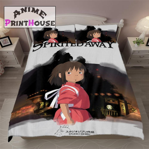 Spirited Away Bedding Set, Blanket & Covers