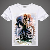 Steins Gate T-Shirt - A3 Printed Model 1
