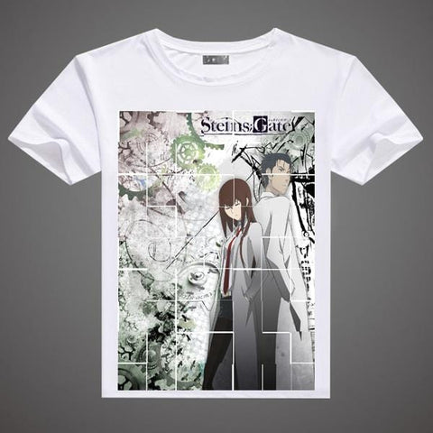 Steins Gate T-Shirt - A3 Printed Model 3