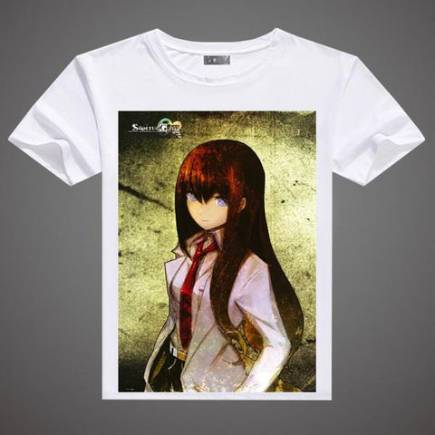 Steins Gate T-Shirt - A3 Printed Model 4