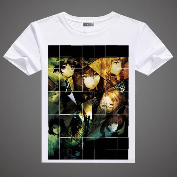 Steins Gate T-Shirt - A3 Printed Model 5